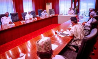 Northern governors 'very committed' to ending insecurity after meeting with Buhari