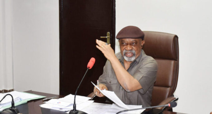 'Foreigners earn five times more' — Ngige seeks probe of 'pay disparity in states'