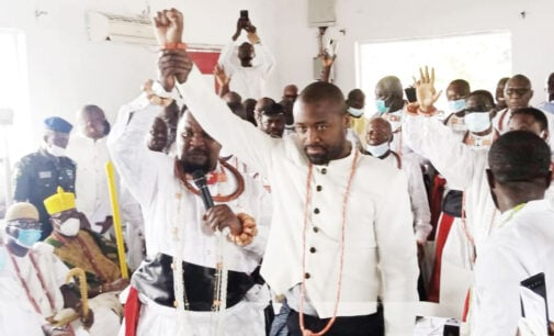 'He's ordained for the throne' — Tinubu congratulates Olu-designate of Warri