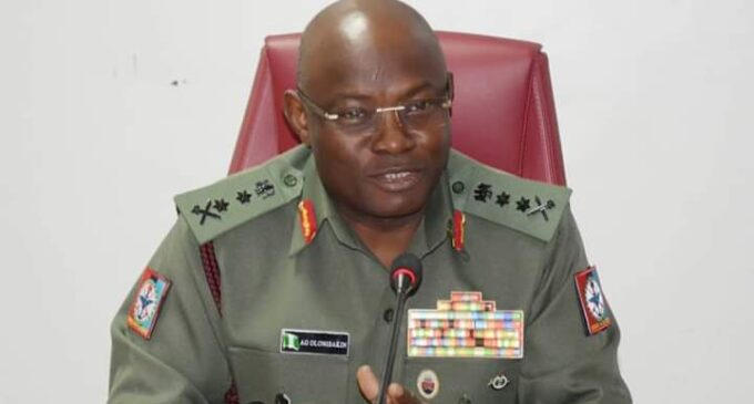 Olonisakin: I foresaw invasion of our forests by bandits