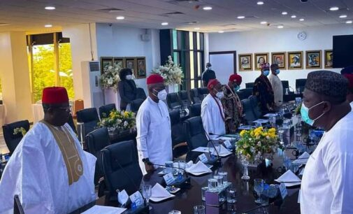 Insecurity: South-east governors hold closed-door meeting in Enugu