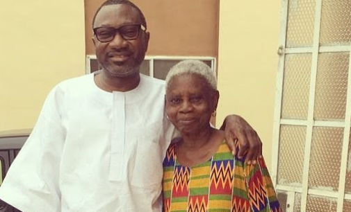 Otedola celebrates 'sweet mother' as she turns 89