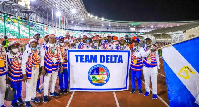PHOTOS: 20th National Sports Festival kicks off with colourful opening ceremony