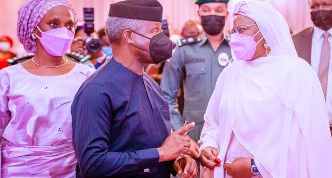 Osinbajo: No Nigerian first lady connected with the people like Aisha Buhari