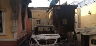 Warehouses looted, buildings razed as insurgents attack humanitarian facilities in Borno