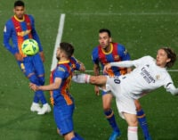 El Clasico: Real Madrid go top of La Liga after win over Barcelona