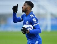 Iheanacho extends Leicester City contract till 2024