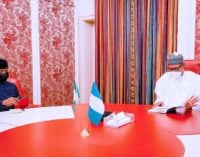 Buhari receives briefing from Osinbajo after return from UK