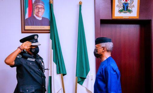 Police must rebuild broken bridges of trust with Nigerians, Osinbajo tells new IGP