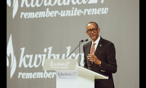 Kagame: We're proud of Nigeria for calling the Rwanda genocide what it is