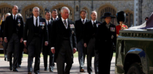 Meghan's absence, mourning in isolation… highlights of Prince Philip's funeral