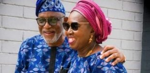 'My crossing the Niger worth it' — Akeredolu's wife marks 40 years of marriage