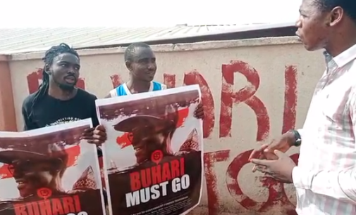 Anti-Buhari protesters arrested, jailed in Kogi