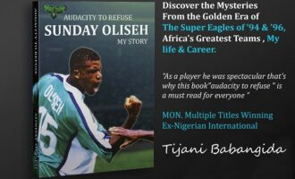 Oliseh reveals 'greatest moments, failures' in new book