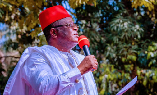 Umahi accuses herders of complicity in Ebonyi attack, says youths at tipping point