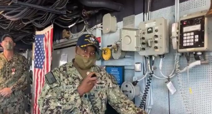 CLOSE-UP: Kelechi Ndukwe, first Nigerian-American to command a US missile destroyer
