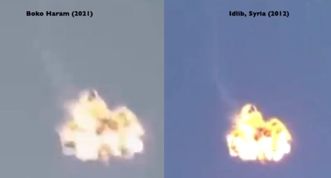 BUSTED: Security analysts expose Boko Haram's doctored video on NAF jet crash