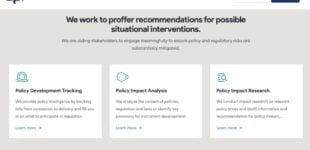 Group launches policy analysis platform for tech entrepreneurs