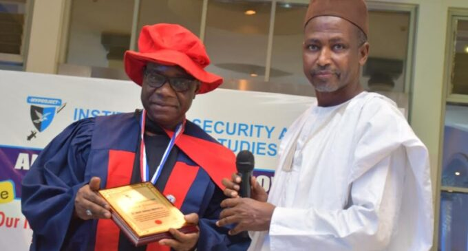 Ismail Adewusi, NIPOST CEO, named fellow of Institute of Security and Strategic Studies