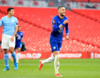 Ziyech sends Chelsea into FA Cup final, ends Man City's quadruple bid