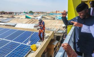 Osinbajo inaugurates solar power programme in Jigawa