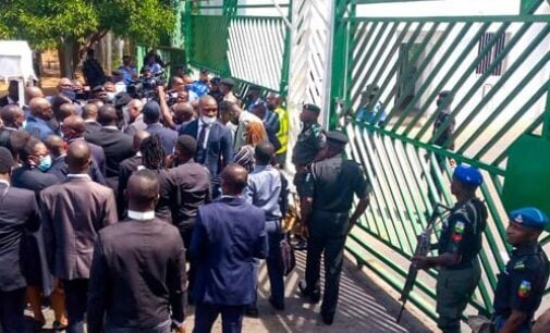 NBA protests at n'assembly over financial autonomy for state judiciary