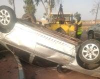 Two Plateau United players survive auto crash