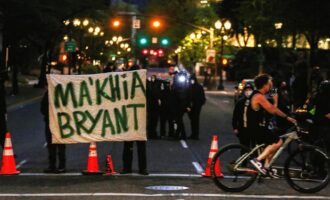 Black teenager shot dead by US policeman — on day of George Floyd verdict