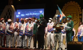 Delta wins national sports festival — sixth time in a row