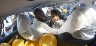 PHOTOS: Mr Macaroni, DJ Neptune grace Woli Arole's wedding