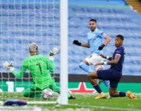 Mahrez double against PSG fires Man City into first UCL final