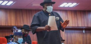 Dickson to Buhari: Governors are helpless… consider resolutions of APC restructuring committee