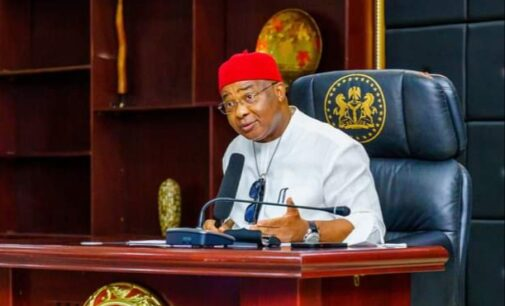 Uzodimma: Politicians behind attacks in Imo should repent or face God's wrath