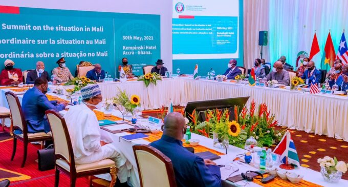 ECOWAS suspends Mali after second coup in nine months