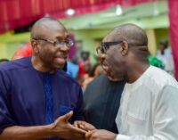 'We're happy it has ended' — Ize-Iyamu congratulates Obaseki on s'court victory