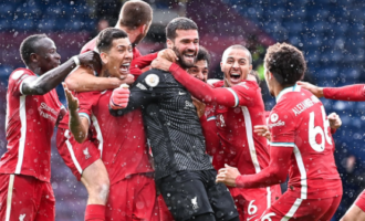 EPL roundup: Alisson's last-gasp winner keeps Liverpool's top four hopes alive