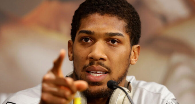 EFCC arraigns two 'fraudsters' for impersonating Anthony Joshua