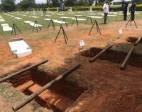 PHOTOS: Where late army chief and 10 officers will be buried