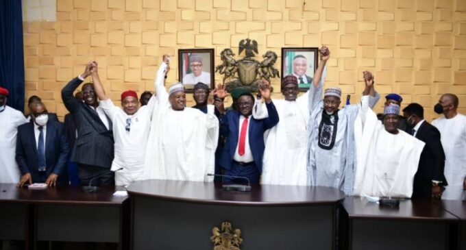 APC to PDP governors: Your colleagues joining us because Buhari inspires them