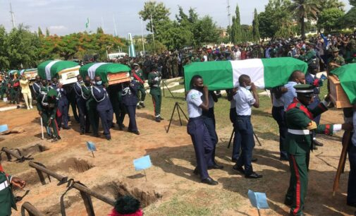 'It reflects depth of sacrifice' — Osinbajo mourns officers killed in air crash