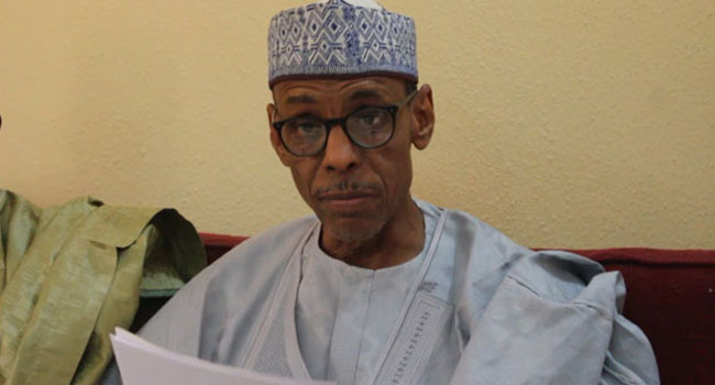 Baba Ahmed, nothern elders forum spokesman