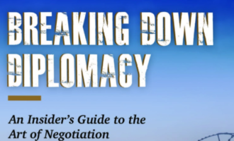 Reviewing 'Breaking Down Diplomacy', and the art of negotiation