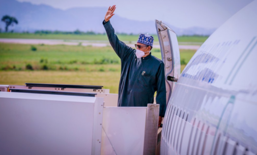 Buhari departs Abuja for African Finance Summit in France
