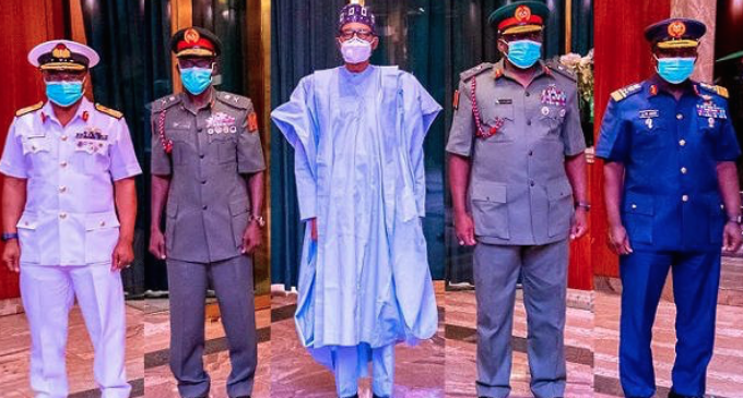 'We remain loyal to Buhari' — military warns soldiers, politicians against coup