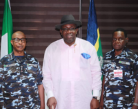 Dickson seeks more funding for police, condemns attack on officers