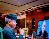 Osinbajo: Sub-Saharan Africa requires $40bn annual investment for energy transition