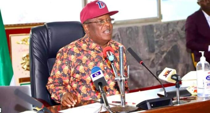 Umahi: Sit-at-home not biting south-east governors — we have food to eat