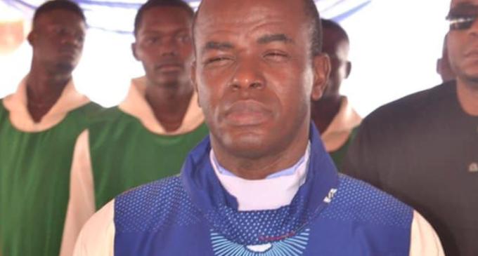 Fr. Mbaka's sin