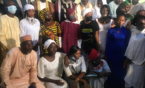 Gumi meets freed Afaka students, explains how he helped secure their release