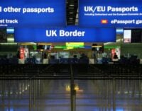 COVID-19: UK retains 10 days quarantine requirement for travellers from Nigeria